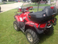 Can-Am Outlander XT 500cc 4x4 windshield wench 2up seat.........