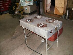 large outdoor propane stove