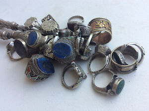 21 unique old rings for  collectors. Not fine jewelry. Handmade Windsor Region Ontario image 4