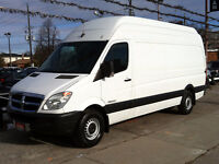 "2007 DODGE SPRINTER 2500 EXTENDED CRD 3.0L DIESEL 170"" HIGH ROOF"
