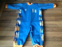 9-12 months Splashabout wetsuit worn once. Excellent condition .