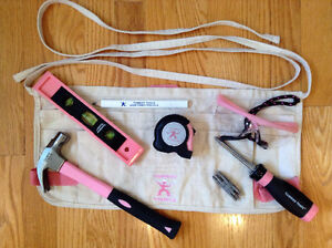 Pink Hand Tool Set from Tomboy Tools