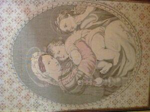 Tissage religieux d'apres Raphael