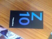 Blackberry phone z10