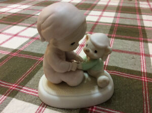 """""""May Your Christmas Be Cozy"""" Precious Moments Figurine"""