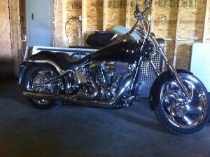 Softail deuce like no other.