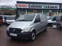 62 REG MERCEDES-BENZ VITO 2.1 CDI COMPACT LOW LOW 8900 MILES FSH OPEN 7 DAYS