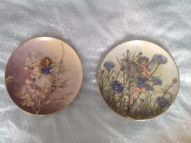 Villeroy & Boch Flower Fairy plates. Numbered. Mint