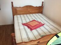 Bed Frame with Mattress (BARGAINS)