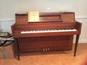Piano (5 octaves, matching stool & music if desired.