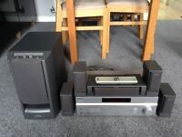 Sony DTS 5.1 Surround Amplifier and Speakers