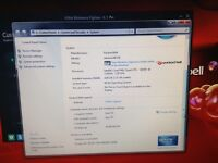 Packard Bell gaming PC tower on Windows 7 with 12 months security