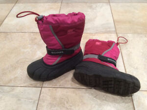 Sorel Winter Boots Girl's size 3