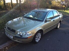 2000 Volvo S40 1.8-2 owners-79000-July 2017 mot-service history-fantastic condition