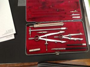 Vintage drawing tools