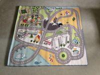 Children's road play mat