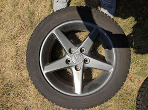 Michelin X-ICE XI3 205/55 R16 with Acura RSX Type S Wheels