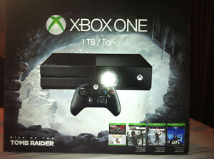Xbox One 1TB  with over 35 games !