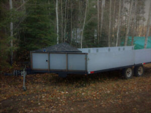 Rampmaster 4 Place snowmobile trailer