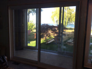 SlidingPatio Door, Windows and Steel Entry Door with Screen Door