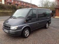 Ford Transit tourneo 9 seater bus