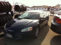2001 Chrysler Sebring Coupe (2 door)