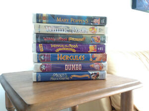 Disney VHS Video Collection