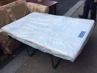Sofa bed : spotlessly clean : free Glasgow delivery