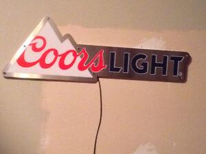 Coors Light Sign
