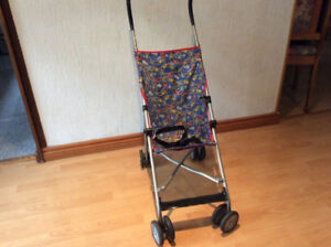 FOLDABLE TRAVEL STROLLER FOR TODDLERS