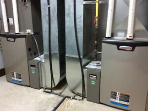 Gaslines, Ductwork,Heating,Furnace repairs,Redtags,Relocations