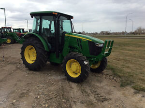 JOHN DEERE 5100E CAB UTILITY TRACTOR 100HP ---NEW