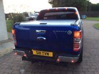 Ford ranger metallic blue