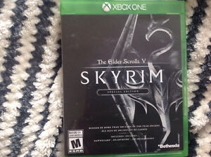 Skyrim Special Edition for the X box one