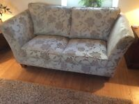 Two and Three seater sofa a footstool