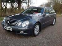 Mercedes-Benz E220 2.1CDI Elegance ESTATE WITH GENUINE 80,000 MILES FROM NEW