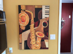 MUSICAL DESIGN WALL PICTURE...