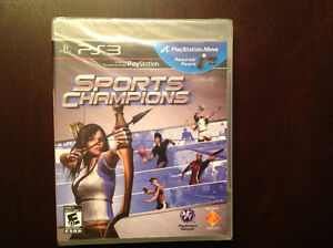 Sports Champions for PS3 Factory Sealed!