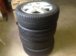 4 Tires with Rims 205-55-16