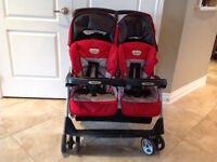 Aria Twin 69-40 double Stroller
