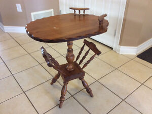 Vilas solid wood occasional table