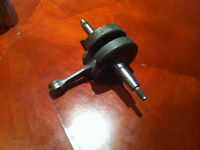 crank shaft kfx,ltz,dvx 400