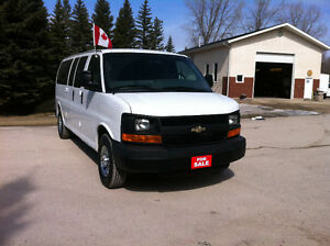 2010 CHEV EXPRESS 3500 WINDOW EXT 12-15 PASS VAN SALE $1000 OFF