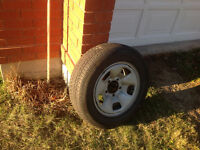 4 BF Goodridge Traction T/A winter tires mounted on Steel Rims