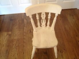 Solid wood Childs Teddybear chair