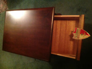 GIBBARD MOHAGANY END TABLES AND COFFEE TABLE LIKE NEW