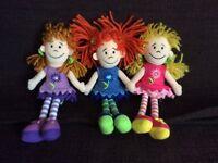 Jellycat Rag Doll Soft Toy Set Girls Gift