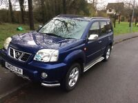 2003 Nissan X-trail 2.5 SVE 4X4-12 months mot-service history-great value
