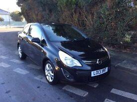 2013 Vauxhall Corsa 1.3 Jet Black only 25,000 miles
