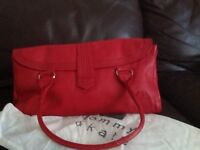 Tommy and Kate red leather handbag